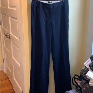 J. Crew Navy Dress Pants 4T Favorite Fit Wide Leg